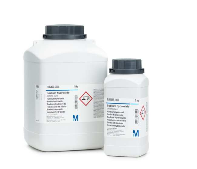 Sodium Hydroxide, Pellets Pure, EMD Millipore&nbsp;<img src=